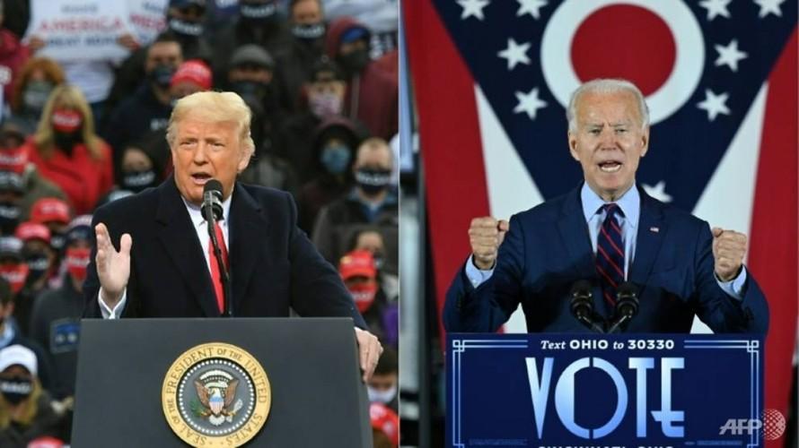 Bầu cử Mỹ trước giờ G: Biden tiếp tục dẫn trước, Trump tự tin sẽ giành chiến thắng