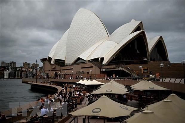 Nhà hát Opera tại Sydney, Australia ngày 30/12. (Ảnh: AFP/TTXVN)