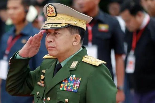 Tổng tư lệnh quân đội Min Aung Hlaing. (Ảnh: Reuters)