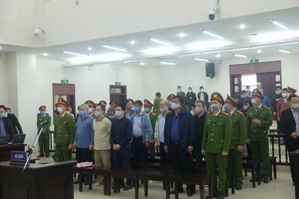 Sáng nay ông Đinh La Thăng, Trịnh Xuân Thanh tiếp tục hầu tòa