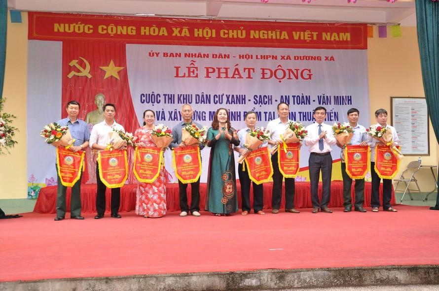 Xã Dương Xá, Gia Lâm nỗ lực trở thành xã nông thôn kiểu mẫu