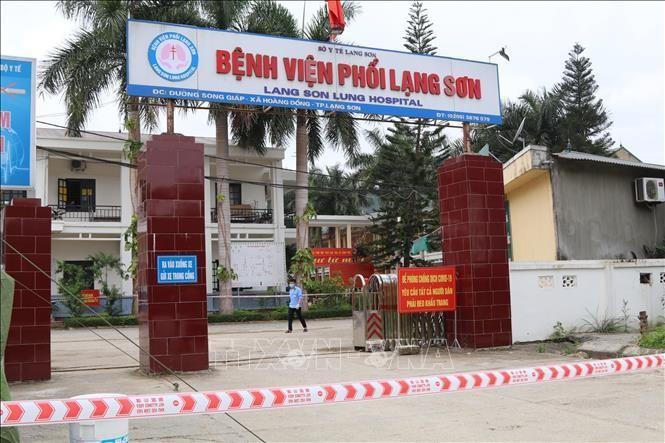 Xuất hiện ca nghi nhiễm, Lạng Sơn phong tỏa Bệnh viện Phổi