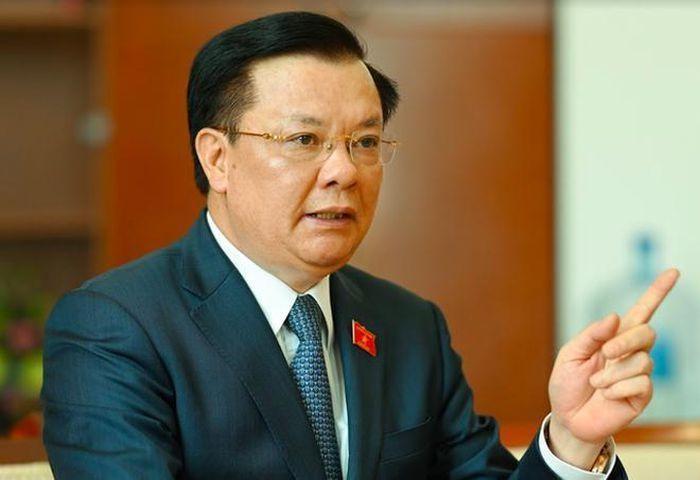 Bí thư Thành ủy Hà Nội Đinh Tiến Dũng