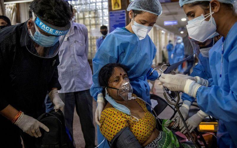 Số người mắc COVID-19 ở Ấn Độ vượt ngưỡng 25 triệu ca