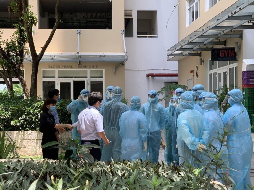 TP HCM: Một cư dân dương tính SARS-CoV-2, block A chung cư Sun View Town bị phong tỏa