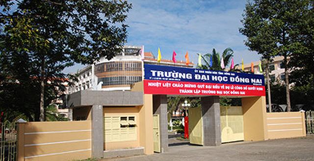 Cách chức Hiệu trưởng trường Đại học Đồng Nai