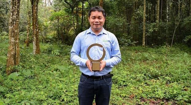 Nhà bảo tồn đầu tiên của Việt Nam được vinh danh tại Giải thưởng lớn nhất thế giới về môi trường