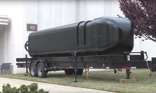 Tàu ngầm được sản xuất bằng công nghệ in 3D của hải quân Mỹ. Ảnh: US Navy.