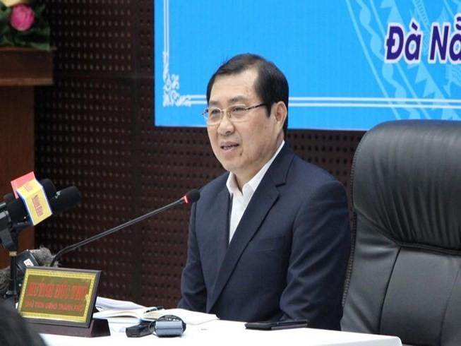 Ông Huỳnh Đức Thơ, Chủ tịch UBND TP Đà Nẵng. Ảnh: Tấn Việt