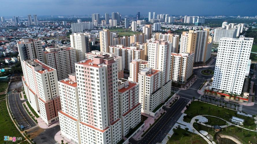 Hàng nghìn căn hộ trong khu tái định cư Bình Khánh (quận 2) được xin chuyển đổi thành nhà ở thương mại. Ảnh: Lê Quân.