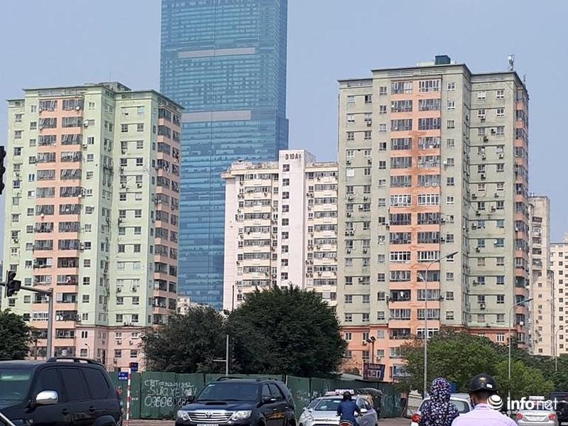 Khu tái định cư Nam Trung Yên (Cầu Giấy, Hà Nội) đã được tiến hành tu sửa nhiều lần...