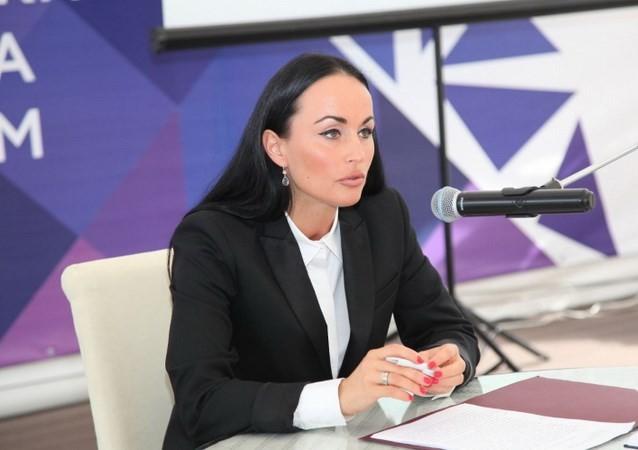 Người phát ngôn Bộ Nội vụ Liên bang Nga Irina Volk. (Nguồn: mvd.ru)