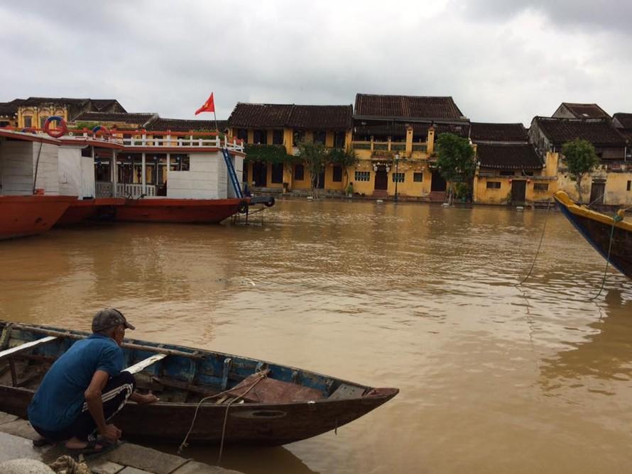 Khu vực Quảng Nam-Phú Yên có nguy cơ xảy ra lũ quét. Ảnh: Lao Động