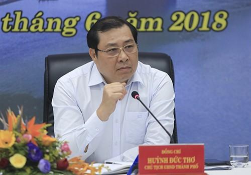 Ông Huỳnh Đức Thơ, Chủ tịch TP Đà Nẵng. Ảnh: VnExpress