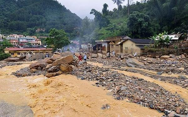 Cảnh báo lũ quét và sạt lở đất tại các tỉnh miền núi phía Bắc