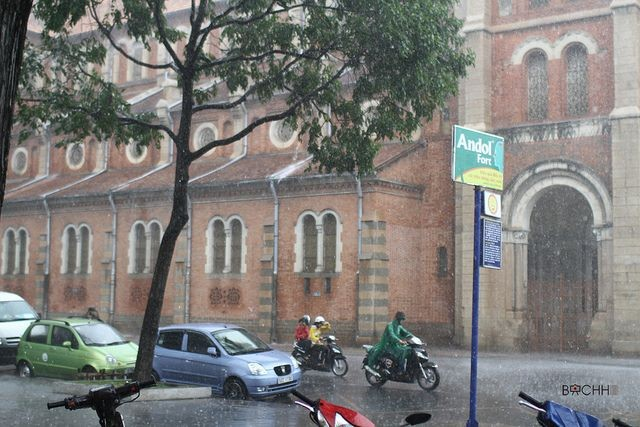 Thời tiết ngày 13/3: Tây Nguyên và Nam Bộ có mưa dông vào cuối ngày