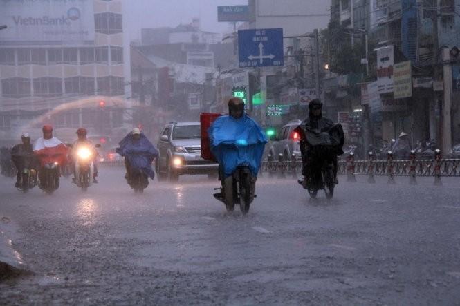 Thời tiết ngày 28/3: Bắc Bộ và Trung Bộ sẽ có mưa rào và dông cho tới cuối tuần