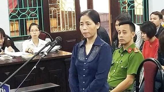 Bị cáo Hoàng Thị Hiền. Ảnh: VTC News