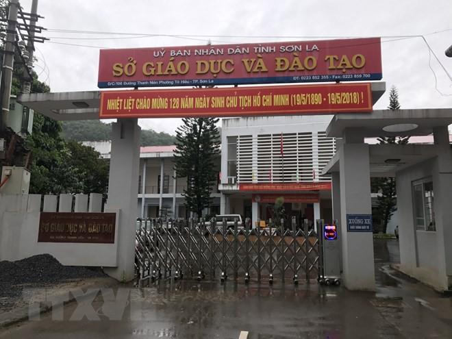 Sở Giáo dục & Đào tạo tỉnh Sơn La. Ảnh: TTXVN