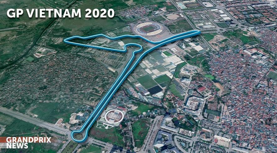 Giải đua F1 Việt Nam chính thức khởi tranh từ 3-5/4 năm sau