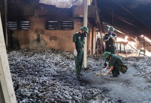 Đã có kết quả xét nghiệm ô nhiễm tại khu vực cháy Rạng Đông