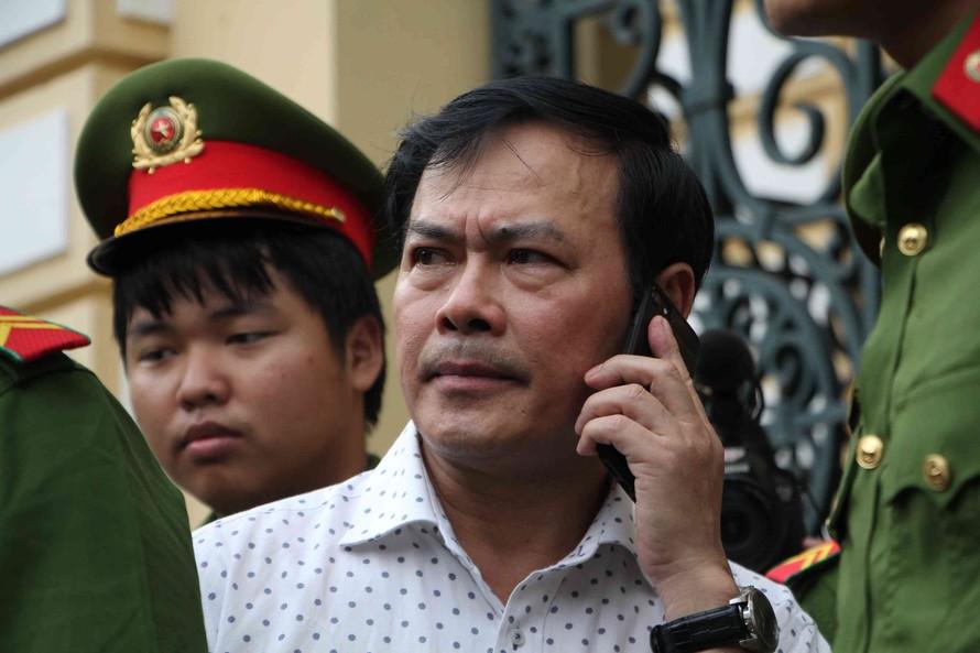 Bị cáo Nguyễn Hữu Linh làm đơn đề nghị giám đốc thẩm