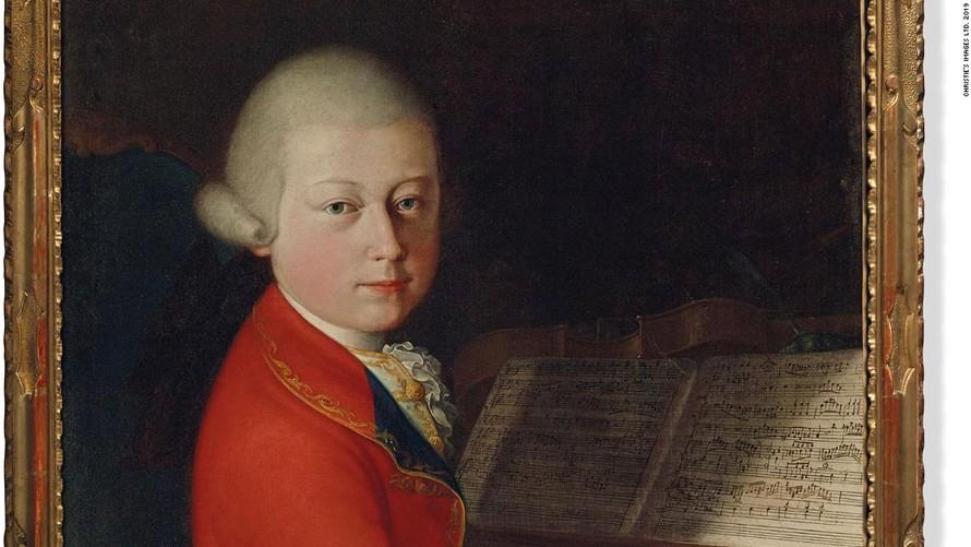 Bức chân dung hiếm về Mozart được đấu giá 1,3 triệu USD