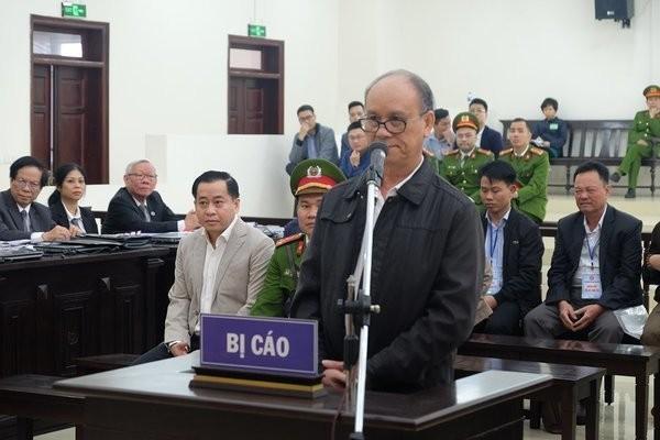 Bị cáo Trần Văn Minh. Ảnh: VietNamNet