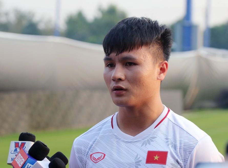 Nguyễn Quang Hải: 'U23 Việt Nam sẽ chiến đấu hết mình và quyết tâm cao hơn nữa để chiến thắng'