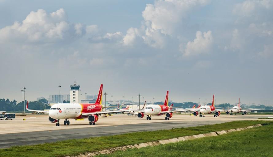 Vietjet vẫn khai thác các đường bay tới Đài Loan và Hong Kong