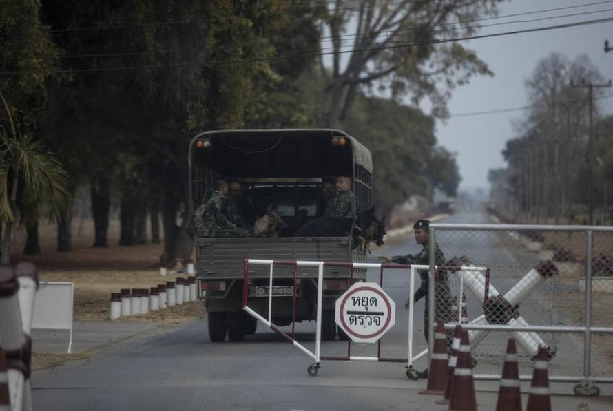 Trại quân sự Surathampitak, nơi nghi phạm Jakrapanth Thomma lấy súng trước khi gây ra vụ thảm sát tại Nakhon Ratchasima.