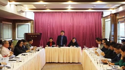 """Quang cảnh hội nghị triển khai """"Chương trình kích cầu du lịch Quảng Ninh 2020""""."""