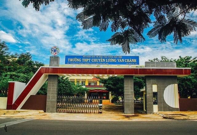 Trường THPT Chuyên Lương Văn Chánh (Phú Yên). Ảnh: Dân trí