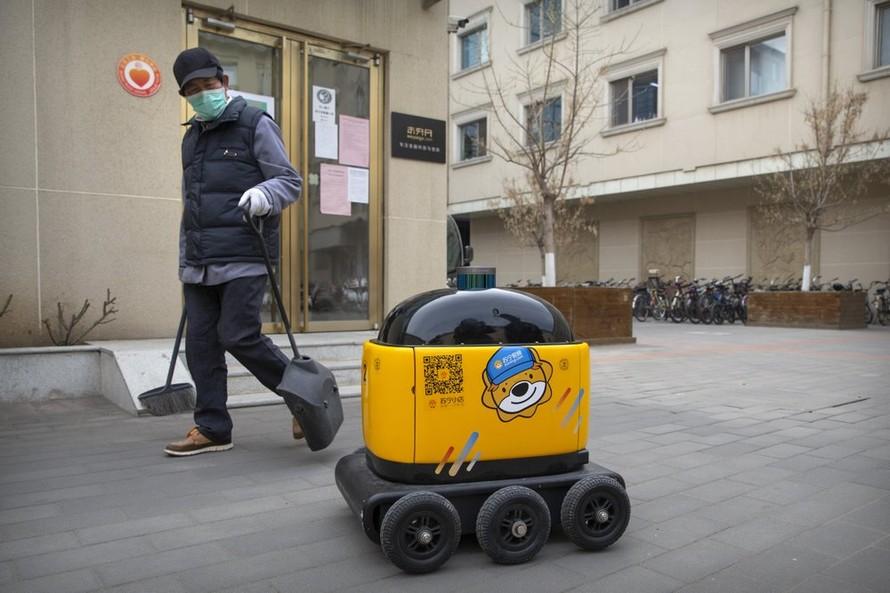 RoboPony là mẫu robot hiện đang được bán chạy tại Trung Quốc. Ảnh: AP