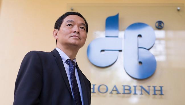 Ông Lê Viết Hải, Chủ tịch kiêm Tổng giám đốc Tập đoàn Xây dựng Hoà Bình.