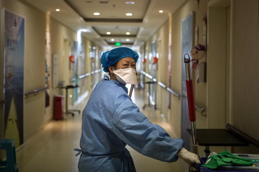 Số ca nhiễm Covid-19 tại Trung Quốc giảm đáng kể