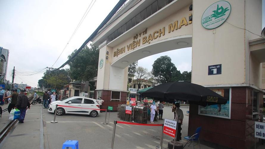 Thêm 2 bệnh nhân mắc Covid-19 tại BV Bạch Mai