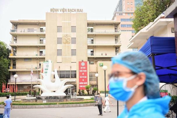 Toàn bộ nhân viên BV Bạch Mai âm tính với COVID-19