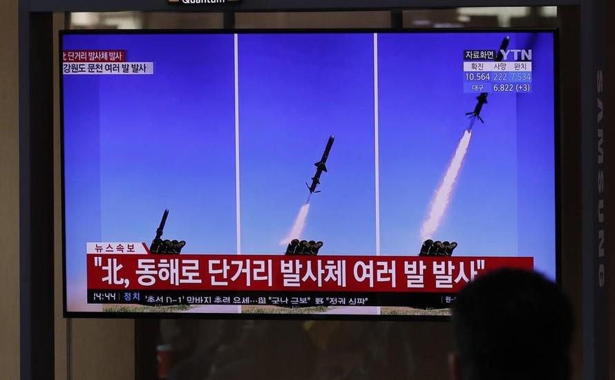 Triều Tiên bắn tên lửa kỷ niệm ngày sinh Chủ tịch Kim Nhật Thành