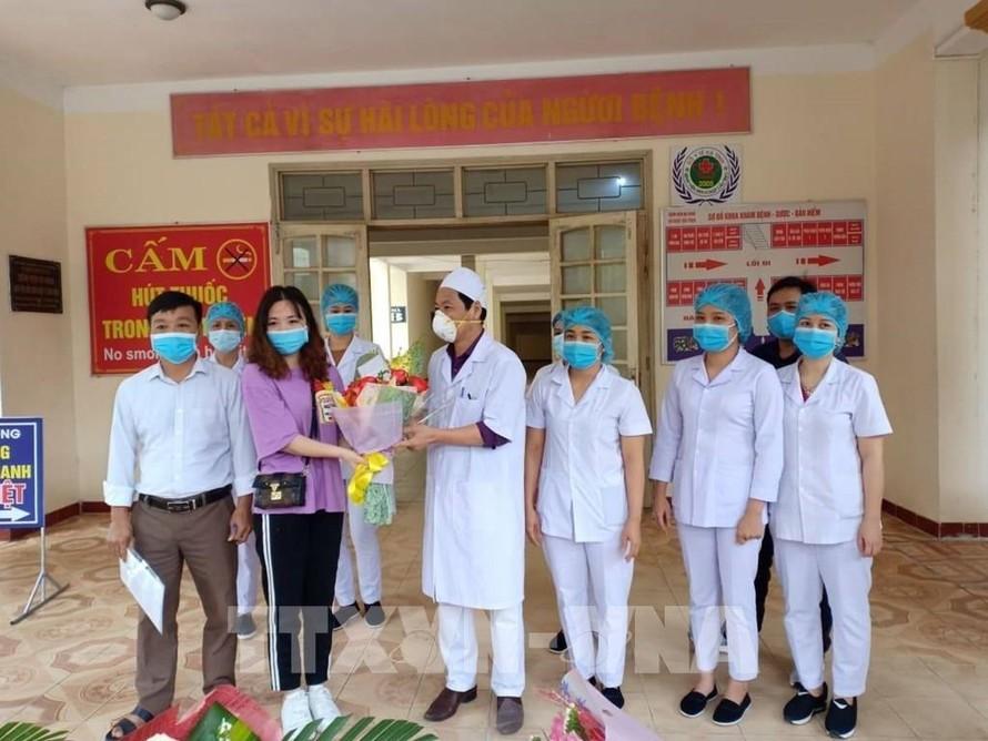 Bệnh nhân 146 xuất viện tại Hà Tĩnh