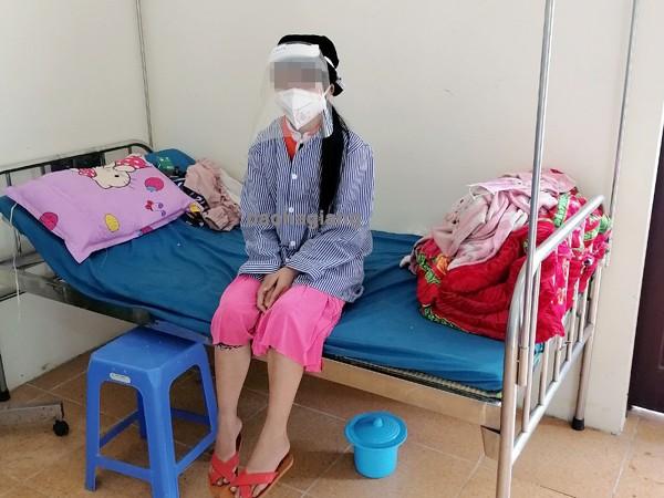 Bệnh nhân 268 sức khỏe ổn định, không ho, không sốt. Ảnh: Báo Hà Giang
