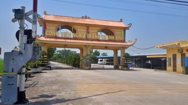 Công viên nghĩa trang Thanh Bình (Nam Định). Ảnh: Nhân Dân