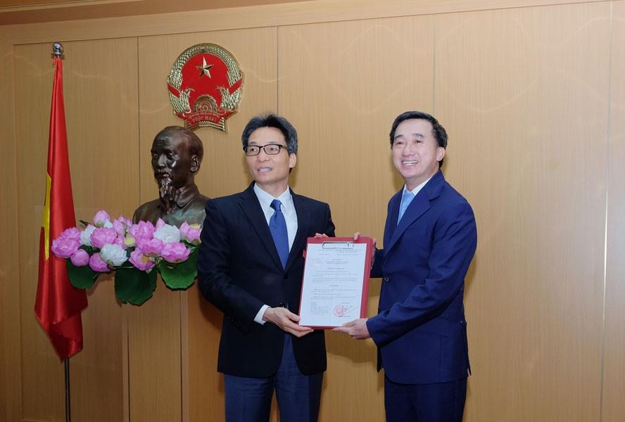 Bổ nhiệm ông Trần Văn Thuấn làm Thứ trưởng Bộ Y tế