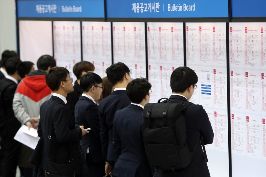 Số lượng việc làm Hàn Quốc suy giảm kỷ lục