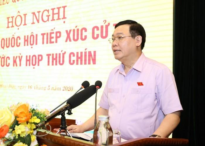 Bí thư Hà Nội: 'Không hy sinh lợi ích lâu dài vì mục tiêu kinh tế trước mắt'