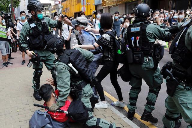 Tình hình Hong Kong căng thẳng trở lại