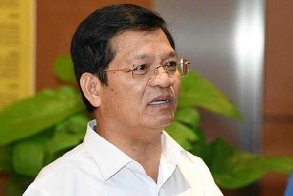 Ông Lê Viết Chữ, Ủy viên Trung ương Đảng, Bí thư Tỉnh ủy, Trưởng đoàn Đại biểu Quốc hội tỉnh Quảng Ngãi.