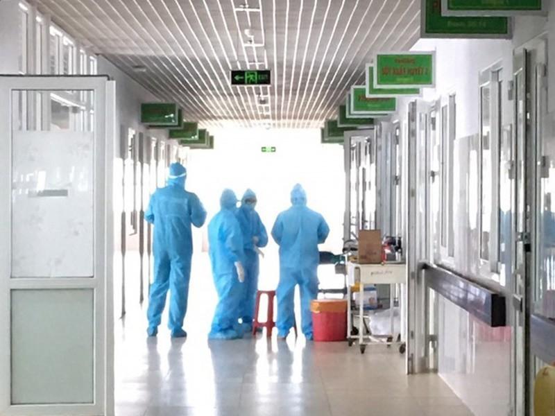 Khu vực điều trị bệnh nhân bạch hầu tại Bệnh viện Đa khoa Vùng Tây Nguyên.