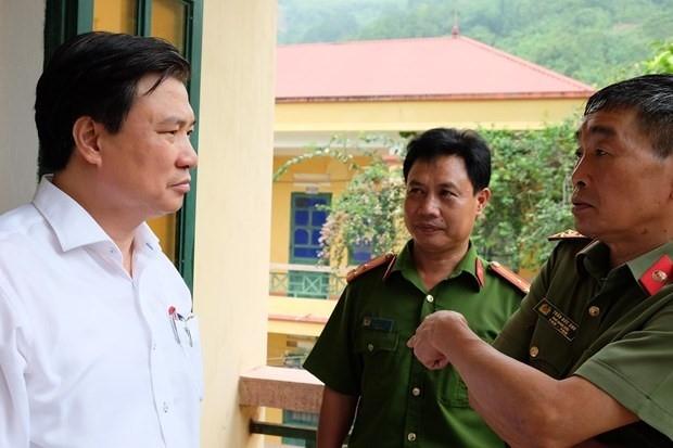 Thứ trưởng Bộ Giáo dục và Đào tạo Nguyễn Hữu Độ làm việc với lực lượng Công an về công tác bảo vệ kỳ thị.