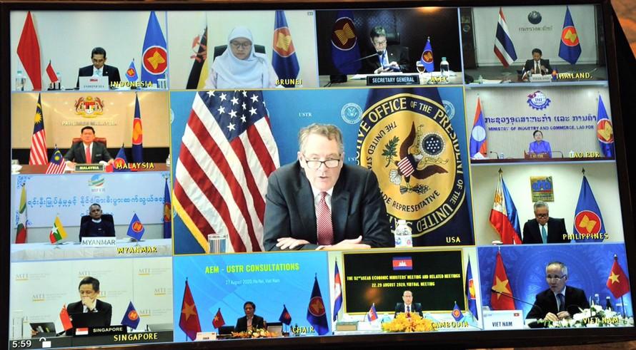 ASEAN - Hoa Kỳ thúc đẩy các giải pháp phục hồi kinh tế sau dịch bệnh
